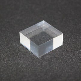 Crude Plexis Cristal acrylic base 20x20x10mm display for display cases