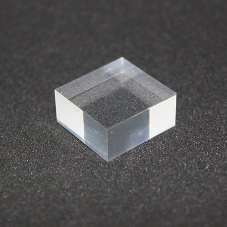 Rough Plexis Cristal stand 20x20x10mm display rack for display cases
