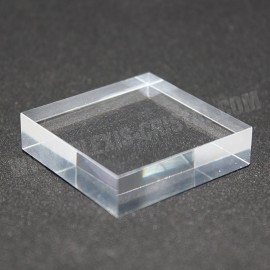 Crude acrylic base 40x40x10mm display for minerals