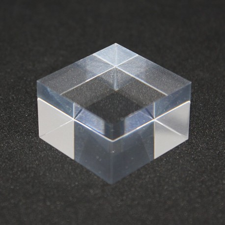 crude acrylic base 30x30x20mm display for minerals
