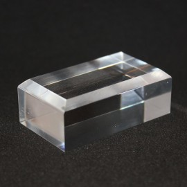 30x50x20mm beveled base acrylic display for minerals