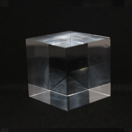 Acrylic base materials cubes : 20x20x20mm