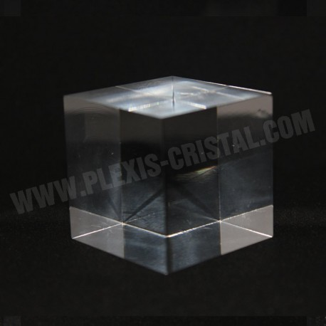 Acrylic base materials for mineral cubes 20x20x20mm