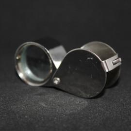 Loupe aplanetique, lentille verre : 30x/21mm