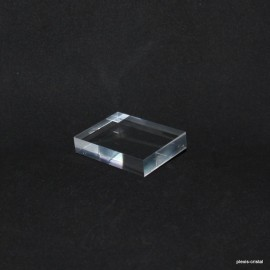 Crude acrylic base 60x45x12mm display for minerals