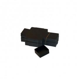 Lot 50 Boîtes Cartons Modulaires noires :56x51x25mm