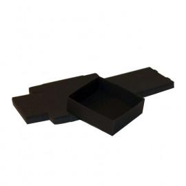 Lot 50 Boîtes Cartons Modulaires noires : 87x65x25mm