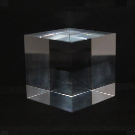 Acrylic base materials for mineral cubes 50x50x50mm
