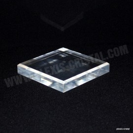 Crude acrylic display base 60x60x25mm
