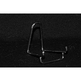 Lot 10 pièces : Chevalet métallique acier chromé supports pour collection
