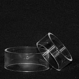Présentoir plastique : socle anneau 40 mm