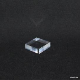 Crude acrylic base 60x60x12mm display for minerals
