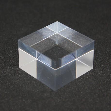 Set 10 pedestals acrylic + 1 free 30x30x20mm display showcase