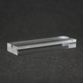 Titolare della carta  acrilico 30x15x6mm x 100 pcs