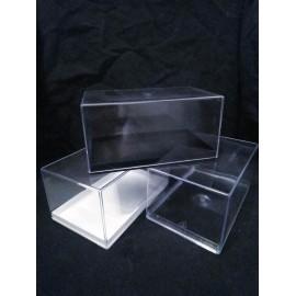 Boîte transparente : 130x80x65mm