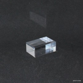 Crude acrylic base 60x45x20mm display for minerals