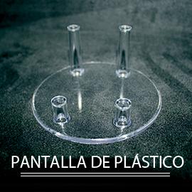 colección de minerales pantalla de plástico