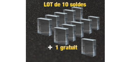 The sets of 10 pedestals + 1 free are online !!
